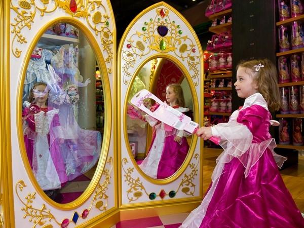 anniversaire, Disney, boutique, cadeau