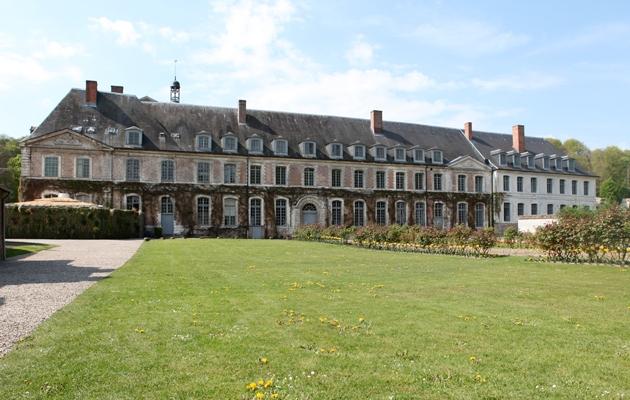 abbaye, jardins, baroque,