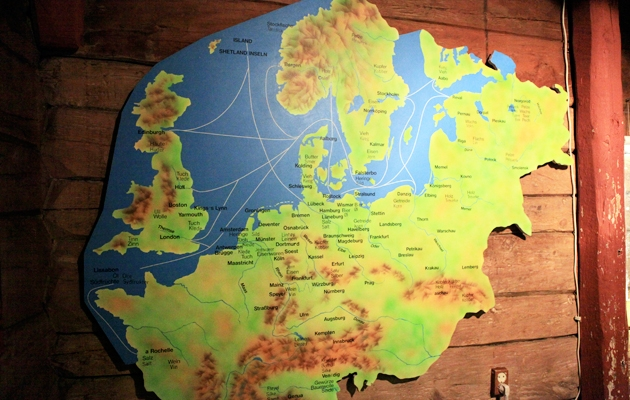 Hanse, histoire, maison en bois, musée, gratuit, marin, poisson