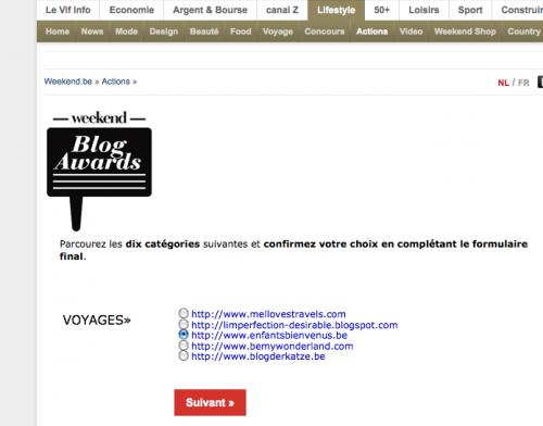 concours, meilleur blog, belgique, lyfestyle blog,