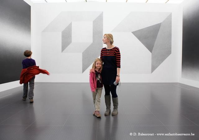 musée, coup de coeur, abstrait, jeux, architecture