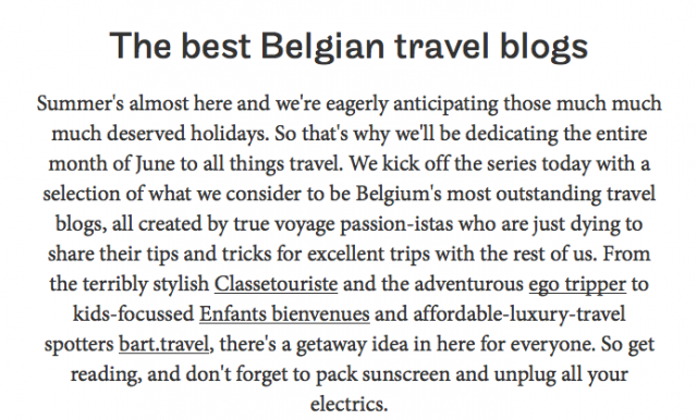 concours, meilleur blog, belgique, travel blog, blog voyage
