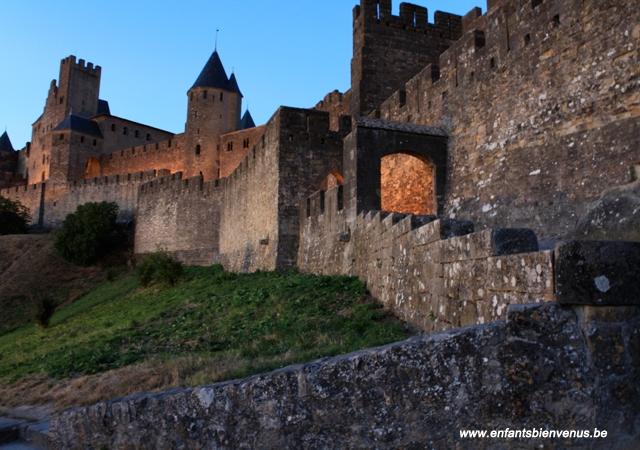 forteresse, château, moyen-age, citadelle, tour