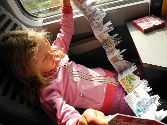 londres, Eurostar, train, fun, goodies