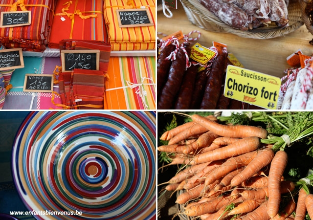 marché, produits, légumes, huitres, fuit de mer, fruit, catalogne, midi
