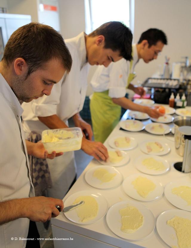 cuisine, Top chef, chef, étoiles, Michelin, cours, gastronomie, Namur