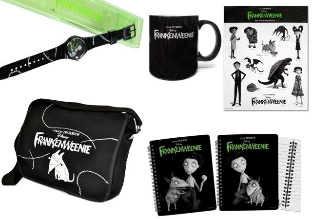 concours, gratuit, goodies, Frankenweenie, Tim Burton, animation, 3D