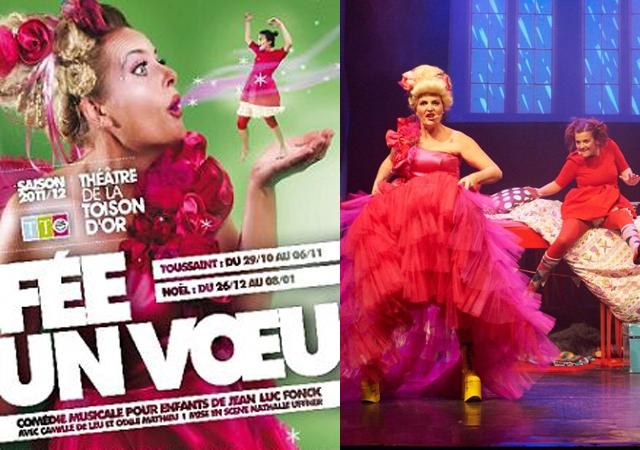 spectacle, noel, Fonk, fun, famille, théâtre, comédie musicale, musicall, féé, voeu