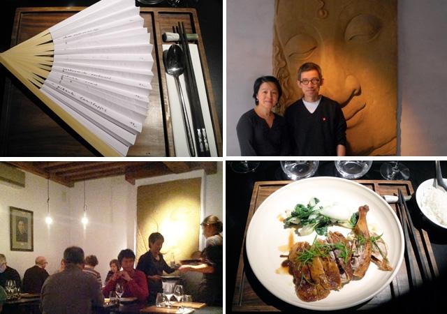 Anvers, chinois, Michelin, chef, étoilé, gastronomie, dim sum, canard laqué