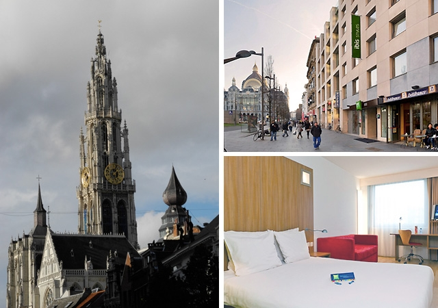 anvers, hotel, chambre familiale, double chambre, wi-fi, centre