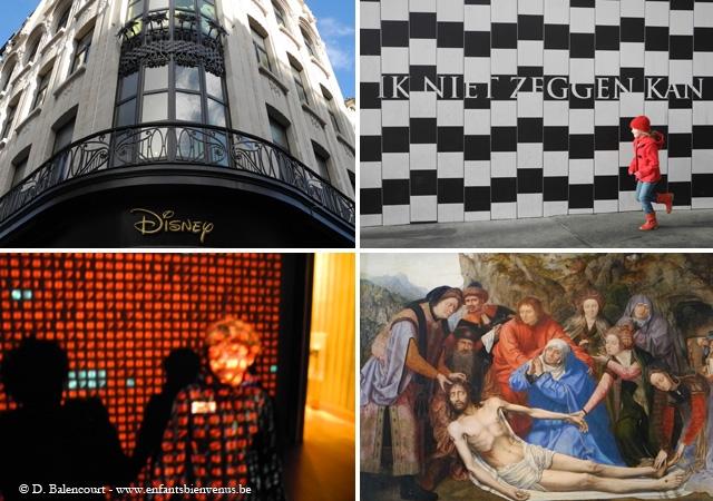 Anvers, diamant, musée, port, grue, diamant, architecture, vue, panorama, chinois, chinatown