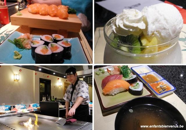 teppanyaki, sushi, miso, japonais, waterloo, fun, coup de coeur