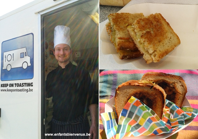 foodtruck, keepontoasting, croque-monsieur, végétarien, streetfood, camionnette, gourmand