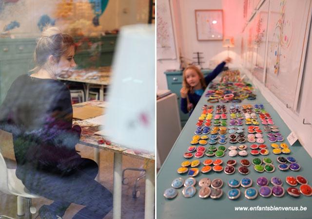 Liège, art, boutique, atelier, stage, anniversaire, création, peinture