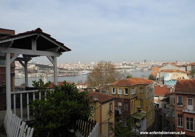 istanbul, logement, pas cher, hébergement, chambre, balat, maison ottomane, quartier, typique