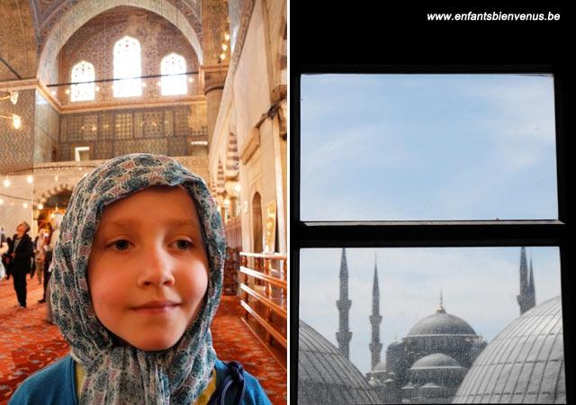 mosquée, istanbul, turquie, visite, voyage