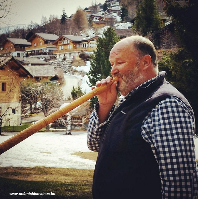 alpes,cor,instrument,musique,valais,nendaz,suisse