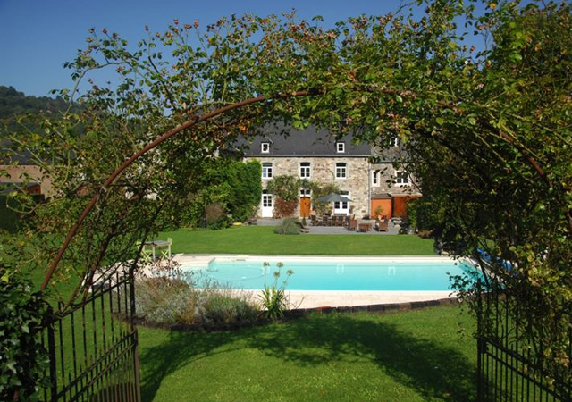 godinne,wallonie,b&b,maison dhotes,chef,piscine,week-end