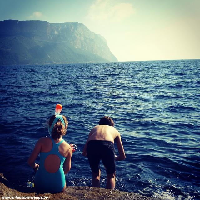 plongee, cassis, mer, sud, france, vacances, destination, soleil