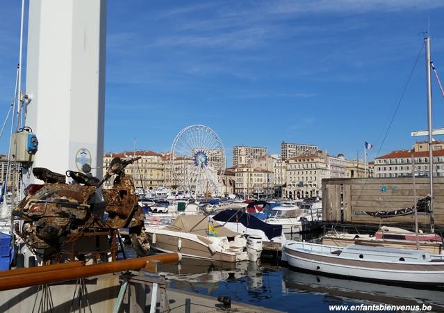 marseille, port, france, visite, coup de coeur, voyage